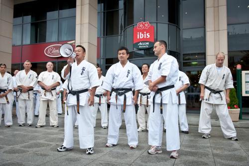KARATE SHINKYOKUSHIN  SEMINAR IN WARSAW 2010