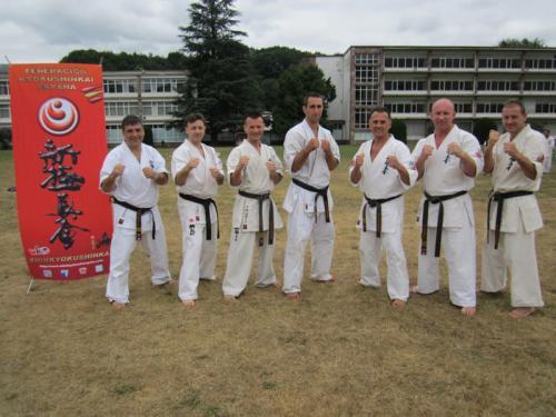 FKE SUMMER  CAMP 2012 WITH  SENSEI VALERI DIMITROV