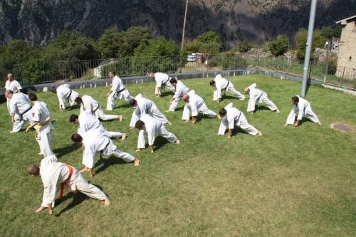 TRAINING SESSION IN ADORRA IN MARCH 2012